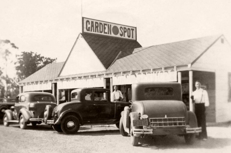 Garden Spot Opened 1938