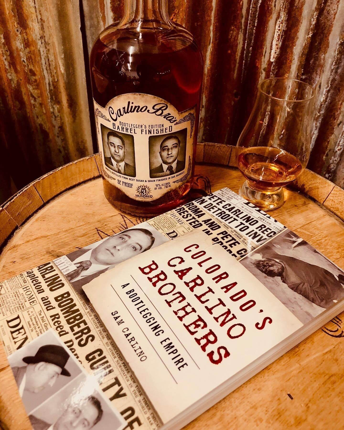 Book and Whiskey photo