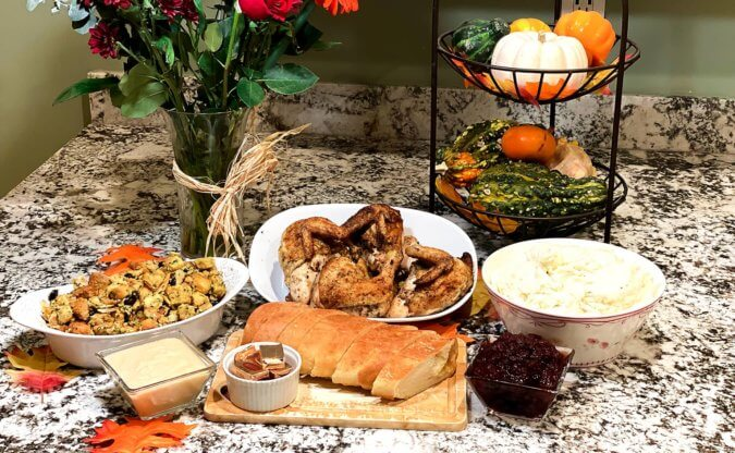 Thanksgiving Ever with a San Jose Prepared Meal for Dinner