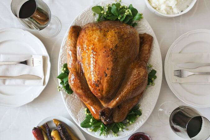 thanksgiving turkey corporate catering